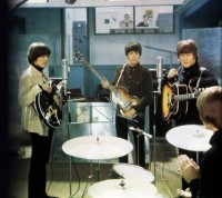 The Beatles at Abbey Road Studios