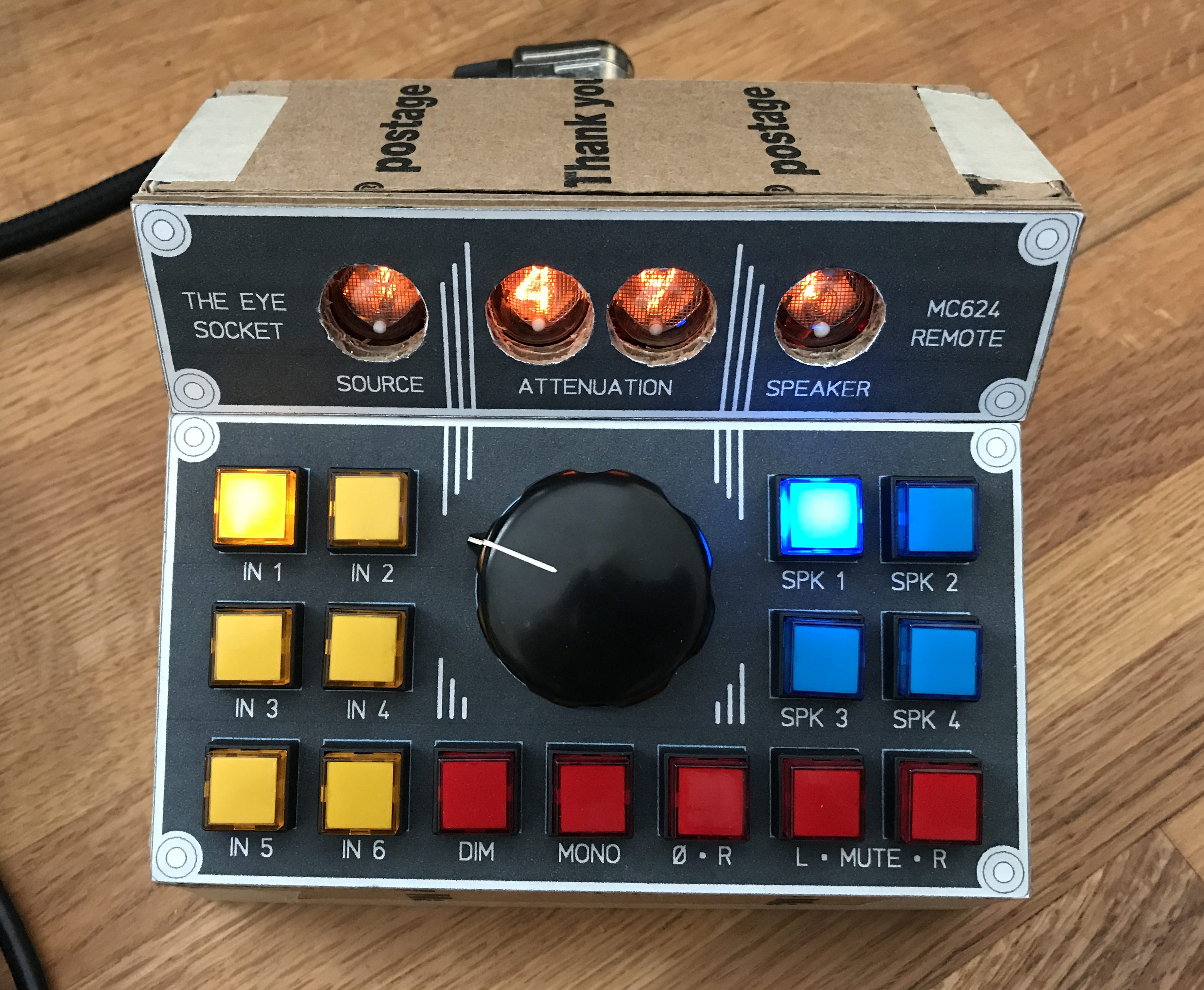 Making the MC624 Remote (in Exhausting Detail) – chad blinman dot com