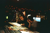 Jackson United at the Village 2003:  Chad and Chris at the Neve in Studio D